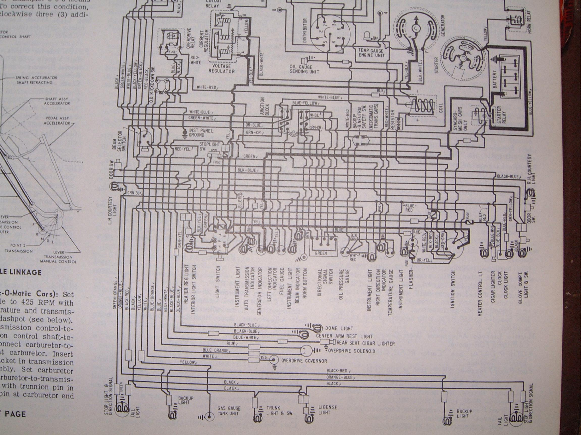 Wiring Diagram For 1956 Mercury Headlight Switch