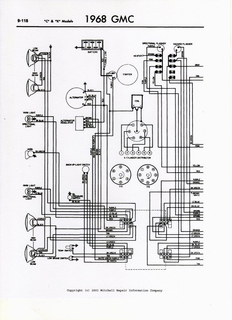 1971 GMC Pickup Wiring Diagram. GMC. Diagram Schematic Engine ...