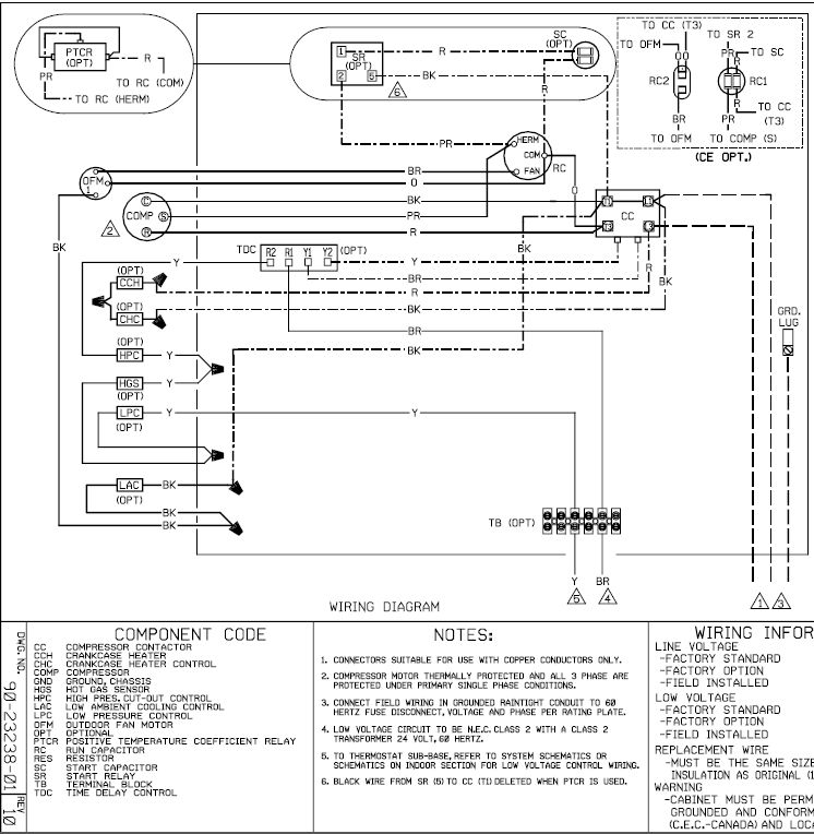 airmaster ca30wc fan motor wiring diagram protech fan motor wiring diagram i am replacing an emerson 3 wire condenser motor with a ...