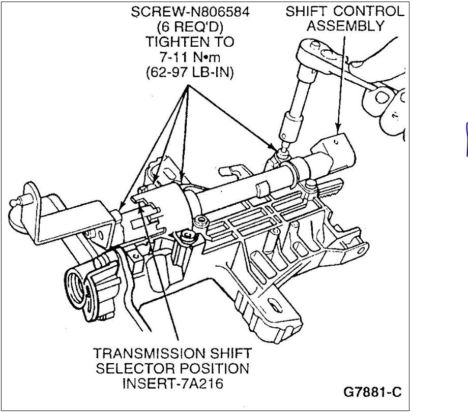service manual  how to change shift interlock solenoid 1965 ford mustang