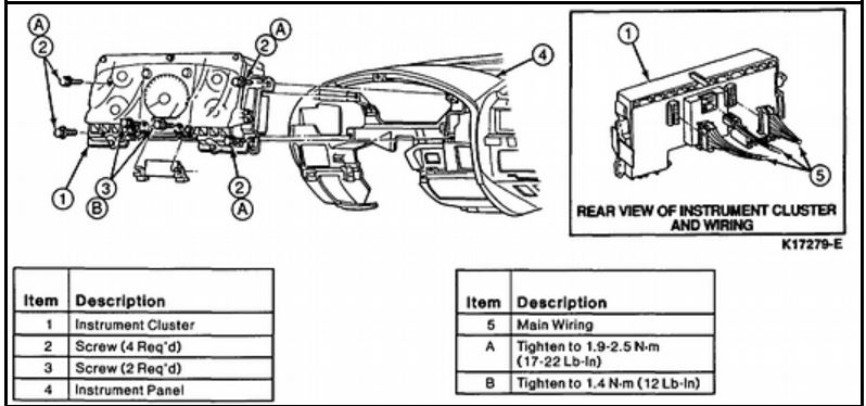 97 f150 under dash wiring diagram  97  get free image