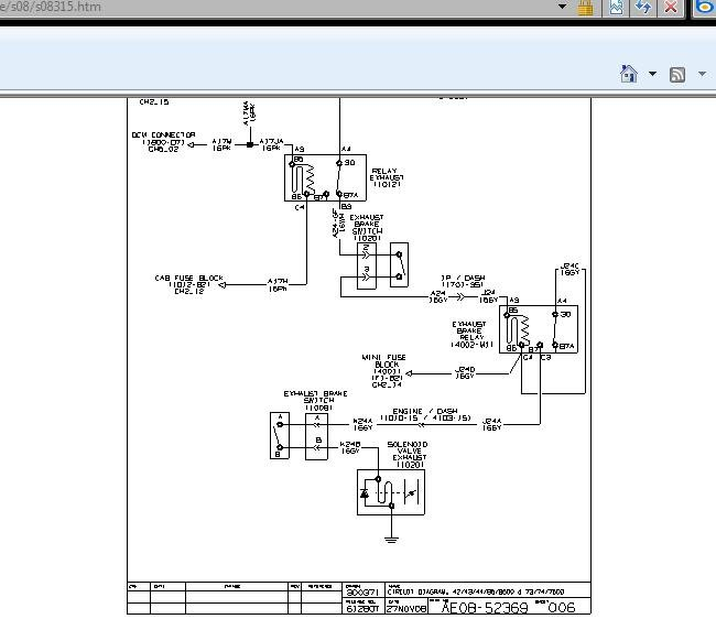 mitsubishi canter exhaust brake wiring diagram wiring diagrams hino exhaust brake wiring diagram digital