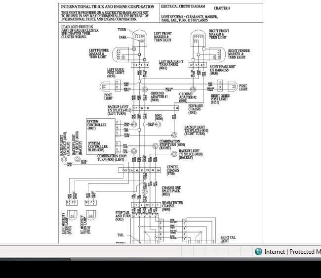 wiring diagram 2008 international 4300 ireleast info 2007 international 7400 wiring schematics 2007 wiring diagrams wiring diagram