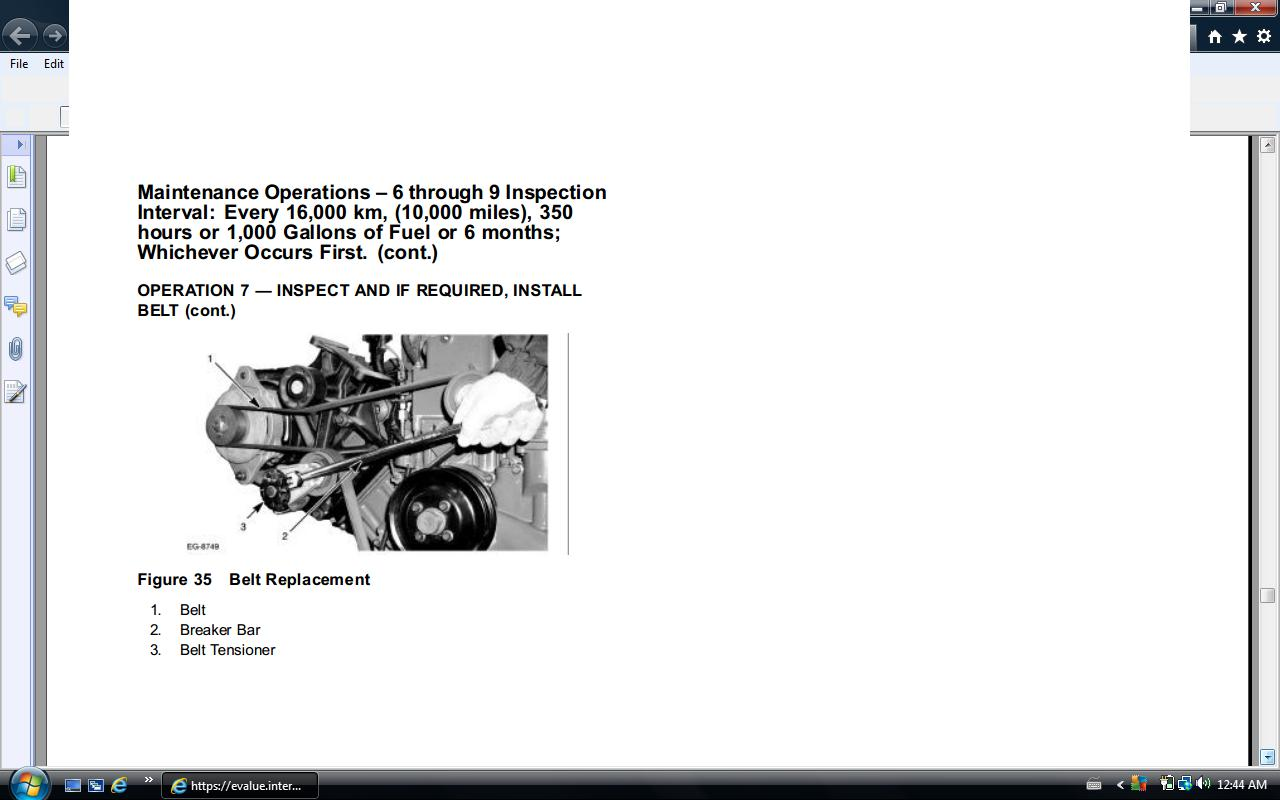 T444e Engine Diagram Free Wiring For You Navistar Vt365 International Parts Autos Weblog Vs 3208