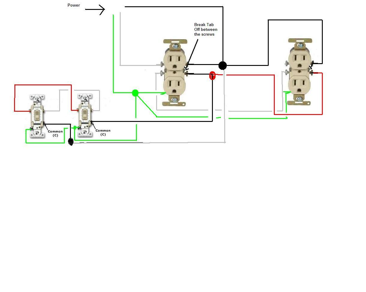 Wiring Diagram 3 Way Manual Guide Light Switch Circuit Get Free Image About Three Recepticle Locations Lamp