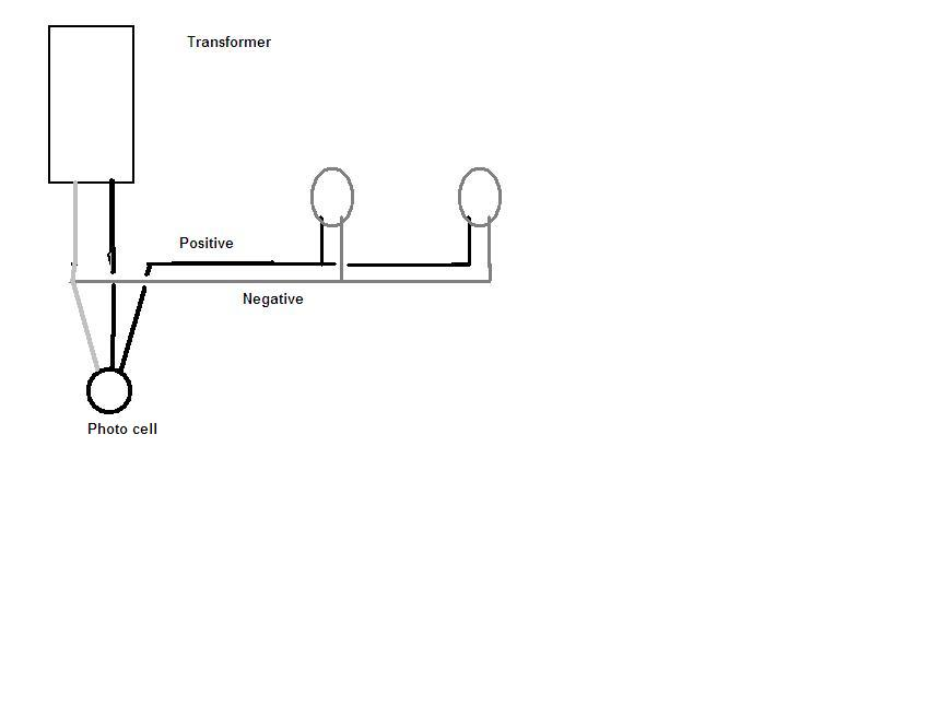 Malibu Photocell Wiring Diagram : Have spot lights westinghouse intnsity transformer