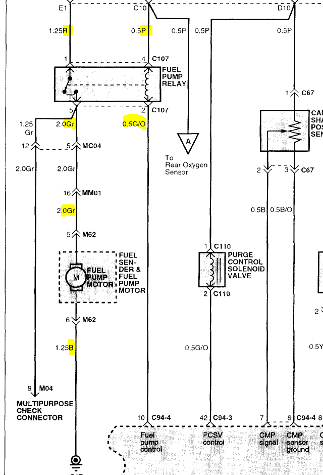 hyundai sonata fuel pump 2003 sonata ok man the first thing we have to do is get on the same page this is the wiring diagram for the car let me know if you see any of these wires