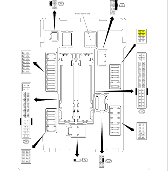 m37 infiniti fuse box location  infiniti  auto wiring diagram