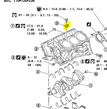 nissan maxima where is the knock sensor for a 1998 nissan