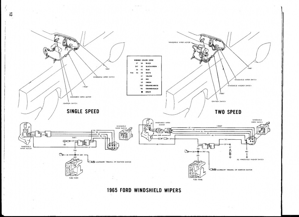 oem wiper motor wiring diagram i need to see a wireing diagram of wiper motor to switch ...