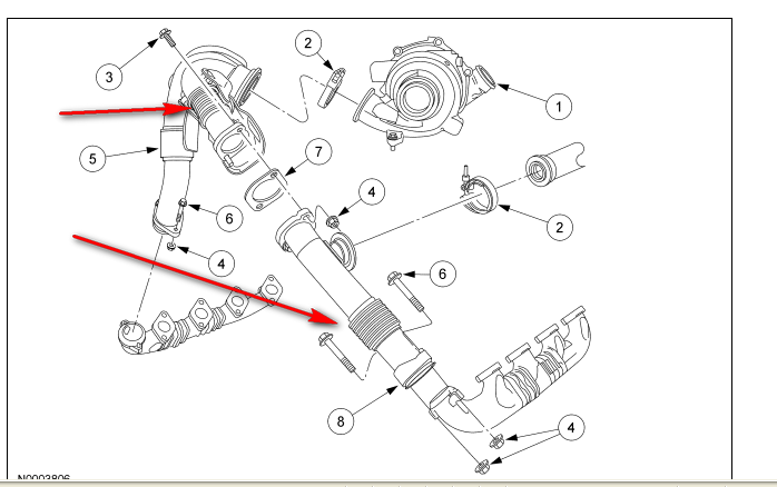 6 4 powerstroke exhaust system diagram  6  free engine