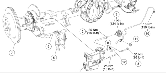 ford ranger how to tell if brake pads needs replacing