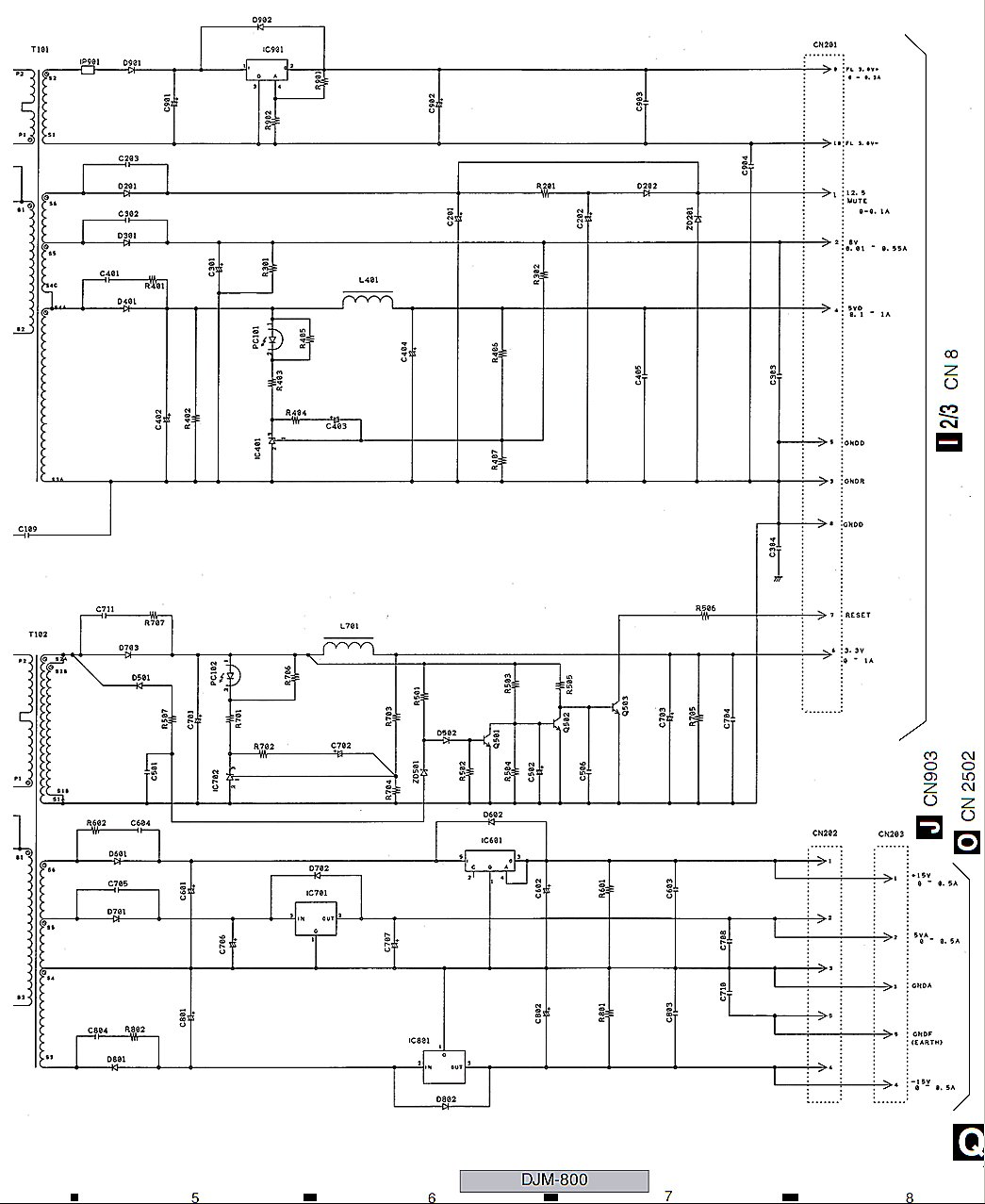 pioneer djm 800 wiring diagram pioneer image i need help diagnosing my no power problem on my pioneer on pioneer djm 800 wiring