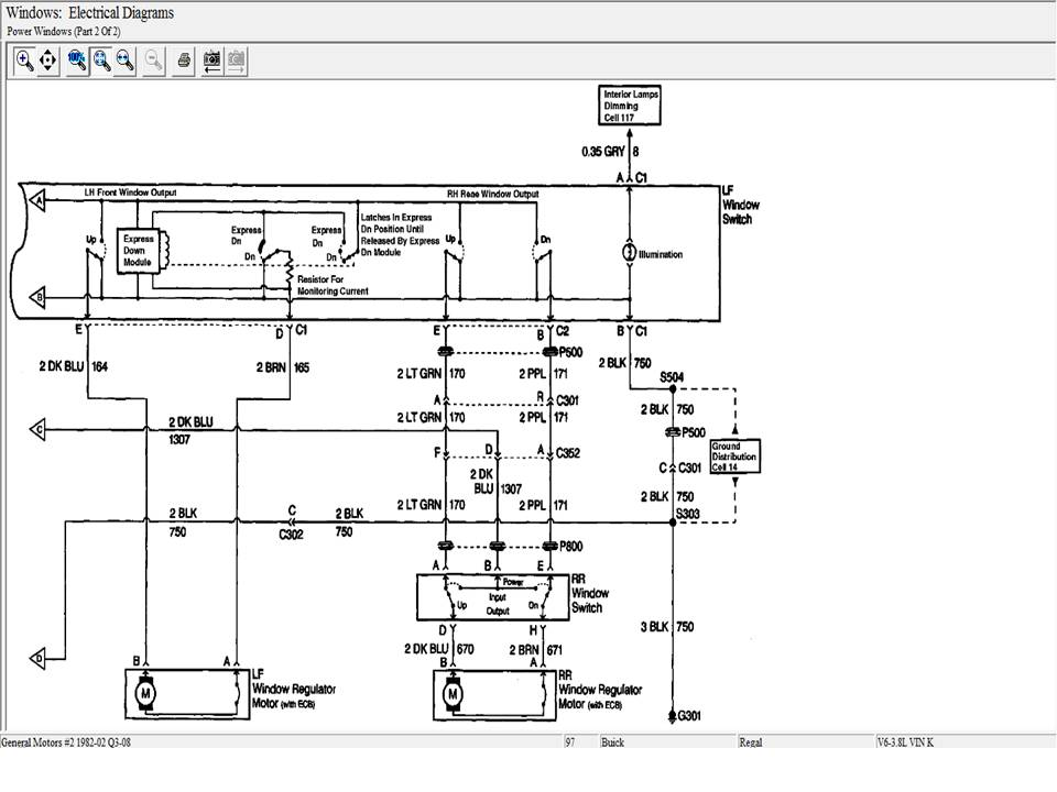 1992 buick regal power window wiring diagram 1998 buick century power window wiring diagram i am having trouble with my power windows. i just bought ...