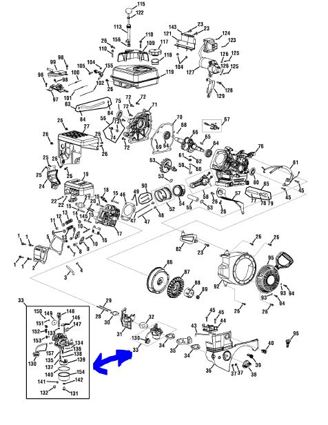 Watch also Ingersoll Wiring Diagrams further T7298 Un T34 A La Place D Un T31 furthermore 4puud Two Cylinder Onan Installed John Deere 318 besides Huayi Carburetor Diagram Quotes. on onan engine parts diagram
