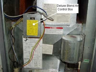 I Have A Evcon Furnace With The Deluxe Blend Air Ii System