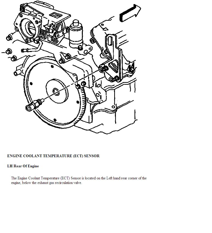 1998 cadillac catera thermostat diagram
