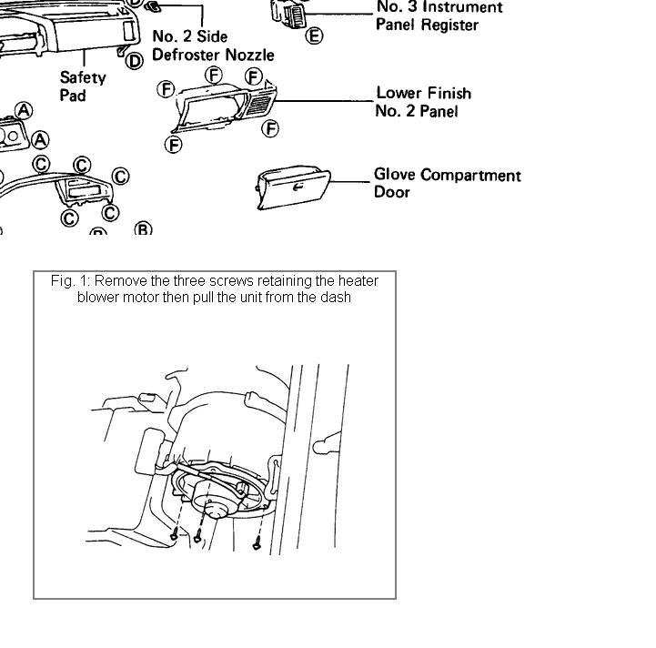 Service Manual 1996 Mazda Mx 3 Heater Core Replacement: [How To Remove Heater From A 2009 Toyota Avalon Workmate