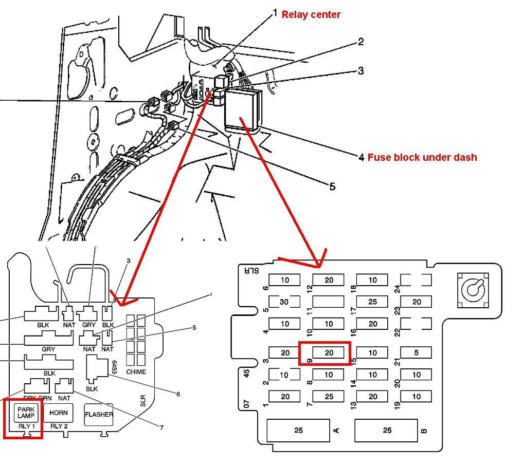 2003 Suburban Fuse Box Diagram together with 6mqm1 Gm Yukon Need  plete Correct Wiring Schematic further T19046391 2009 chevy malibu crank changed as well Where Is The Fuse Box In 2010 Ford Focus together with Location Of O2 Sensor On Ford Taurus Besides 2001. on 2004 impala headlight circuit