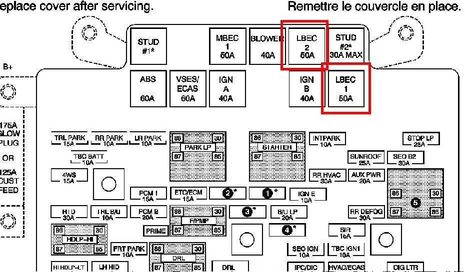 i have a 2003 gmc yukon 1500 4x4 both pass and drv windows ... 2007 gmc fuse box diagrams 2003 gmc fuse box diagrams
