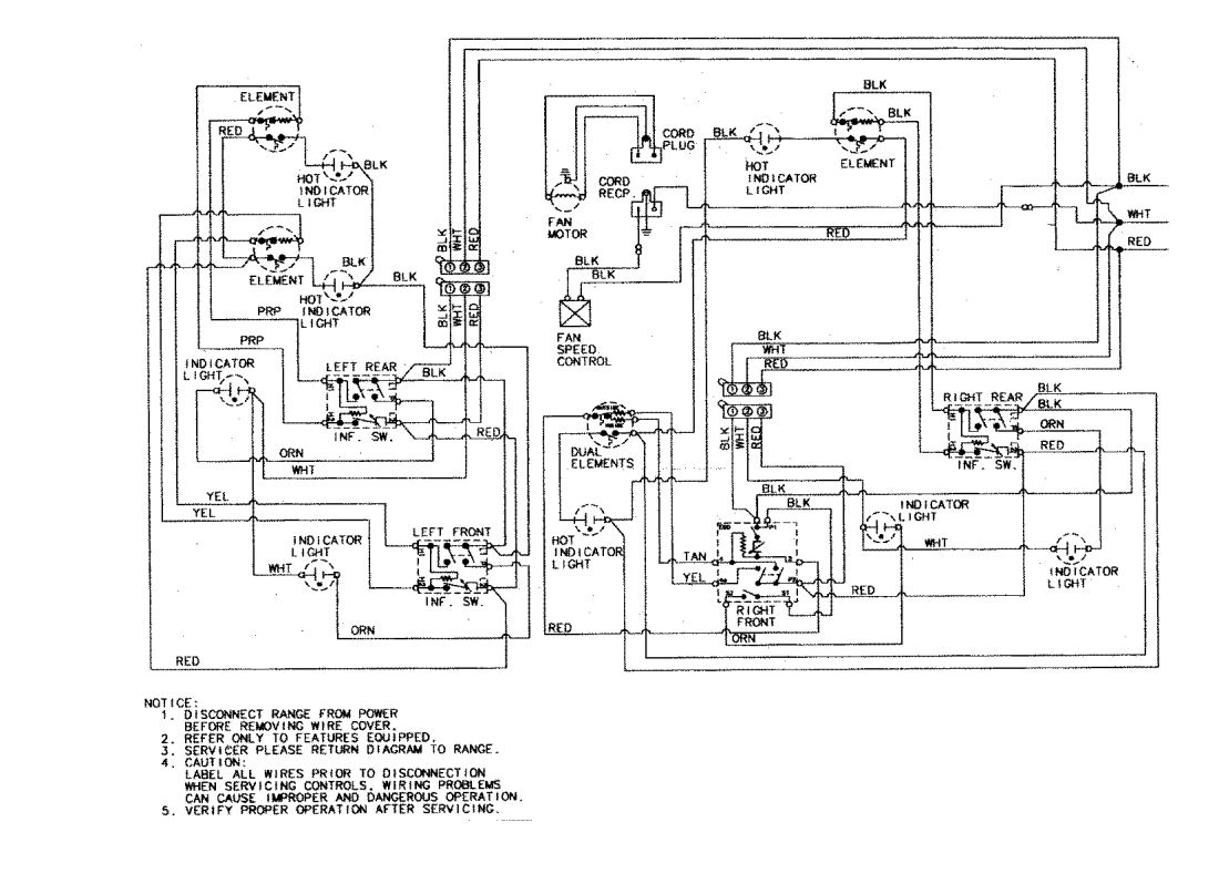 single element wiring diagram along with electric hot
