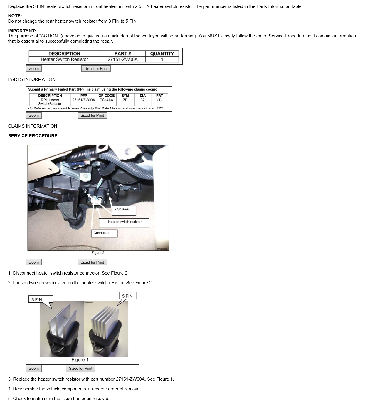 how to replace blower motor resistor nissan titan