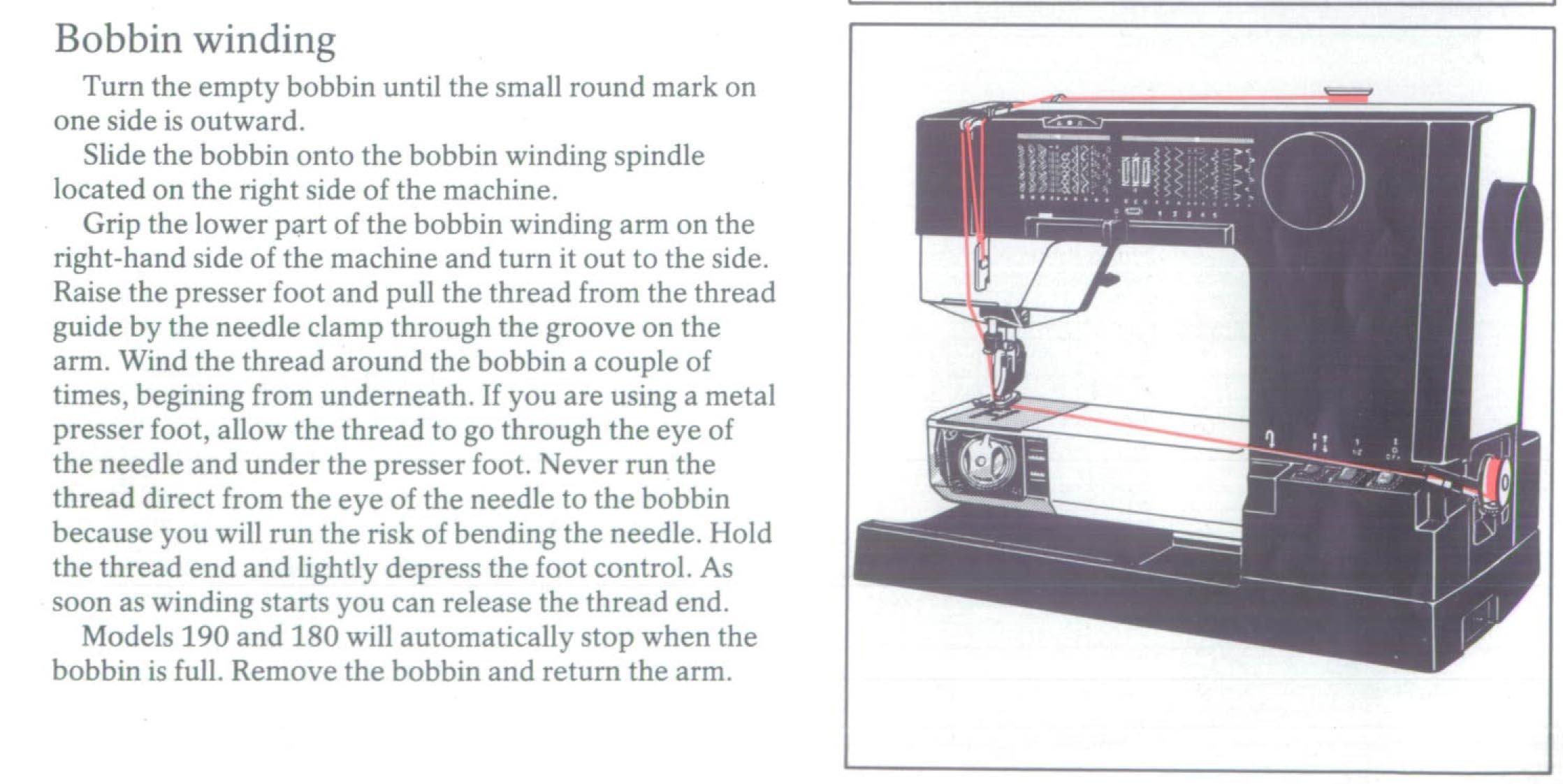 viking 180 sewing machine
