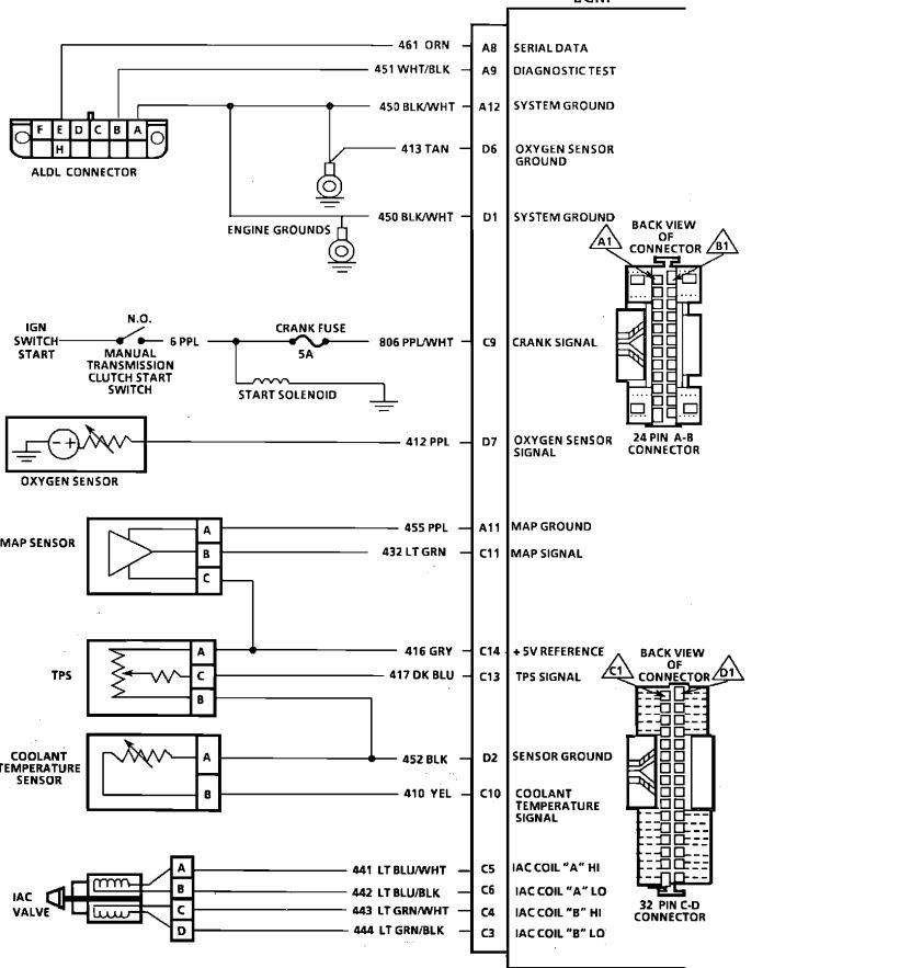 I Need The Complete Wiring Diagram And Pin Designation For