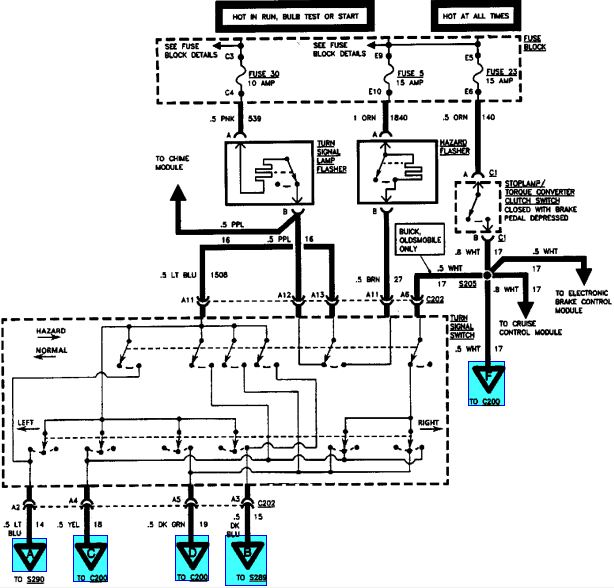 wiring diagrams for 1999 buick regal