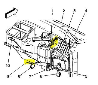 gmc acadia with 5o9ro 2001 Gmc Yukon Location Schematic Ac Heat Actuators on Inner Tie Rod End Location besides 6mbat Ac Clutch Cycling Pressure Switch Located moreover Serpentine Belt Diagram 2011 Gmc Acadia V6 36 Liter Engine 03715 besides Serpentine Belt Diagram 2009 Gmc Acadia V6 36 Liter Engine 03773 additionally Ford Taurus 1996 Ford Taurus Steering And Electrical.