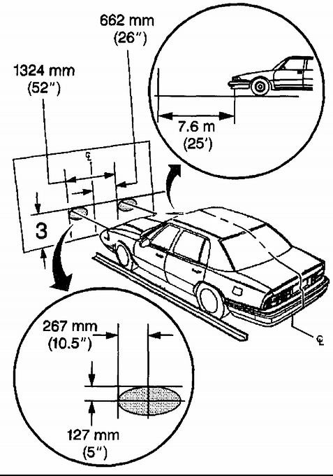 service manual  how to adjust headlights 1989 buick