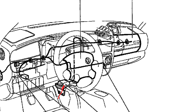 vw jetta side airbag sensor location  diagram  auto wiring