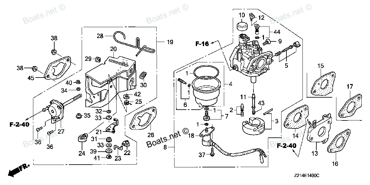honda crf50 carburetor diagram
