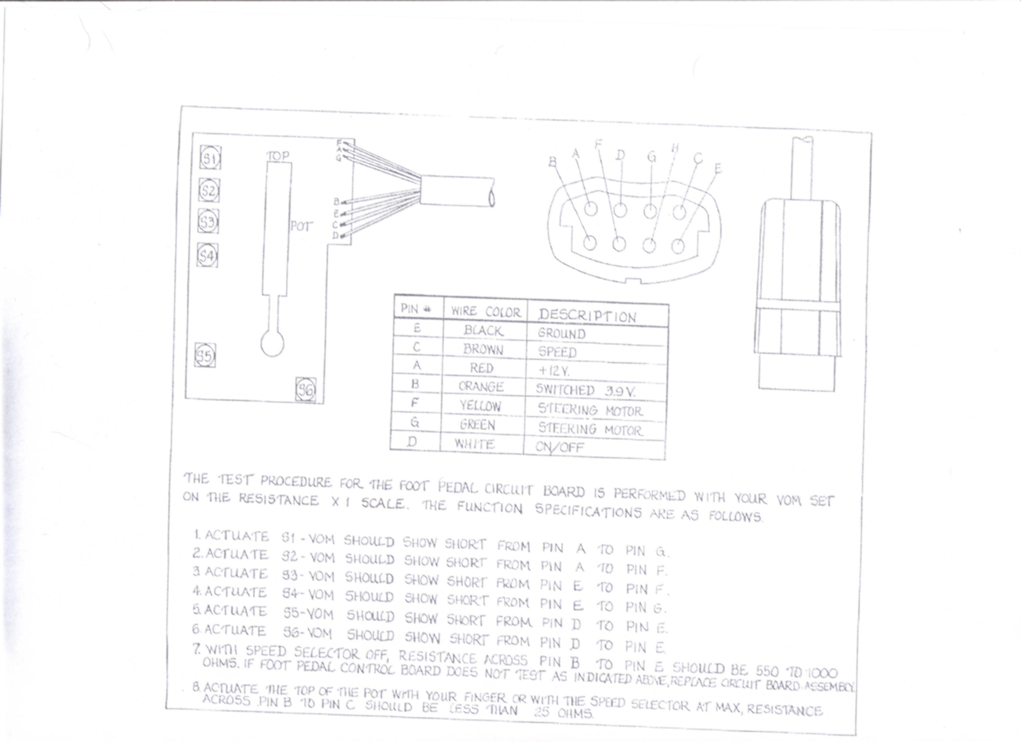 Minn Kota Foot Pedal Wiring Diagram 12 Volt Magnificent 12v Schematic Images Electrical 2550