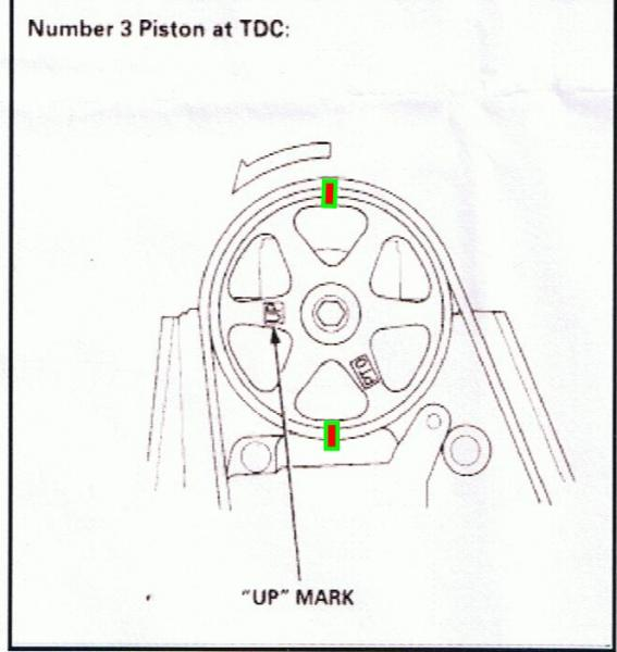 T3505337 Torque specs crankshaft pulley bolt moreover Honda Accord 1995 Honda Accord Timing Belt Change And I Need To Find Tdc also 9t4p6 Diagraim Put Line Timing Marks 2 0 Mitsubishi further The History Of Fords Iconic Flathead Engine also 865pz Accord 1995 Honda Accord Non Vtech Engine Timing Belt Broke. on honda accord timing belt broke