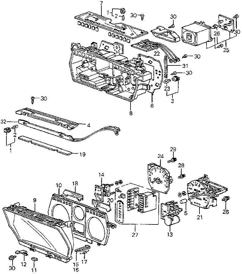 my 1983 honda accord u0026 39 s tachometer doesn u0026 39 t work and the