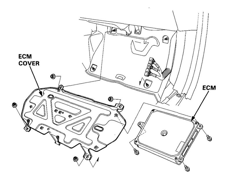 honda civic pcm location  wiring  amazing wiring diagram