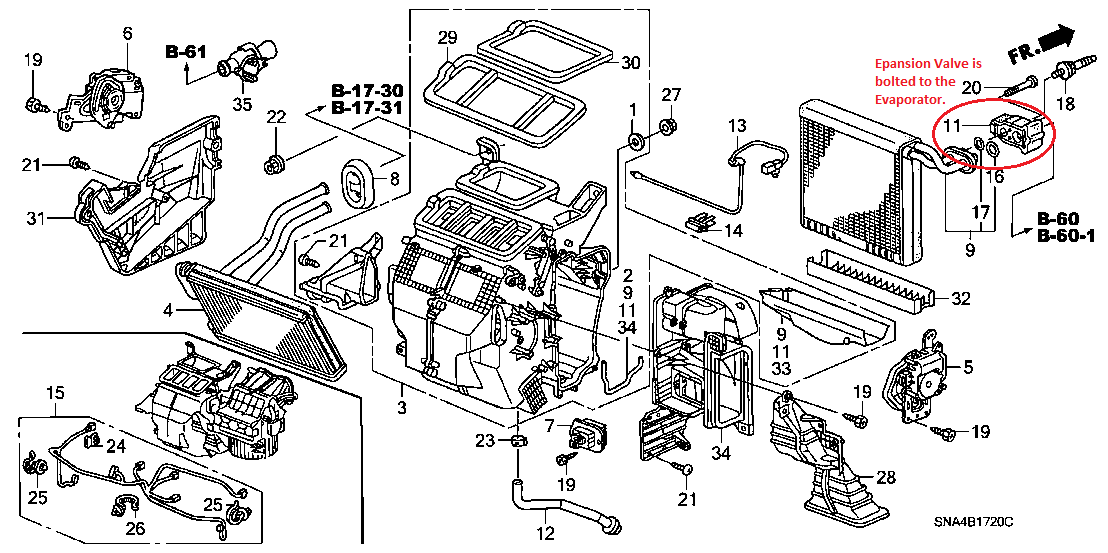 8gr43 Civiv 2008 Civic Expansion Valve Location Fan Blower on 2004 Pontiac Grand Prix Engine Diagram