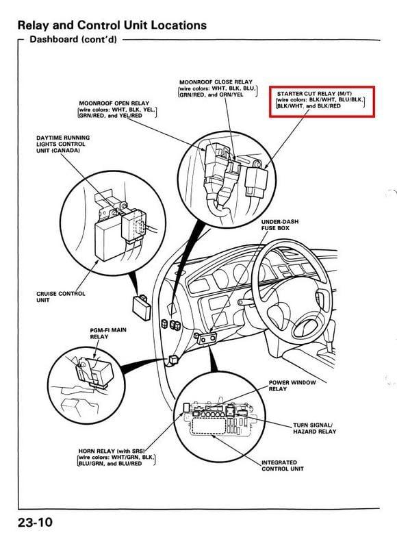 1994 del sol 1.5 no crank, new solenoid in dist., new main ... 1996 honda civic fuse box diagram besides sensor heater circuit bank 1 honda civic fuse box diagram #14
