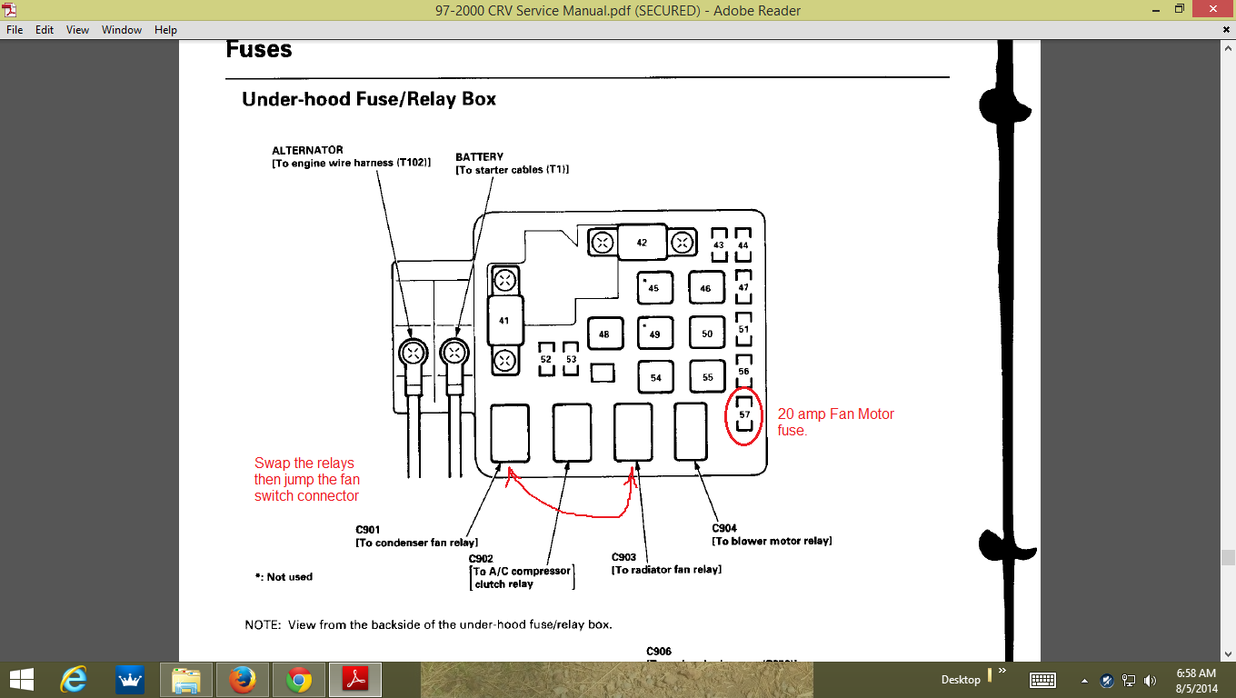 Wiring Diagram Honda Crv Manual Of 2002 Cr V Wire Harness Fuse Box Location Free Diagrams 1997 2008