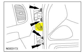 2002 ford explorer about 3 weeks ago the door ajar light for 2002 ford explorer rear window hinge recall