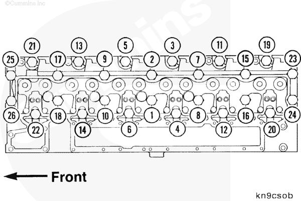 international 4300 truck engine diagram