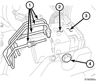 Jeep Liberty Abs Module Location