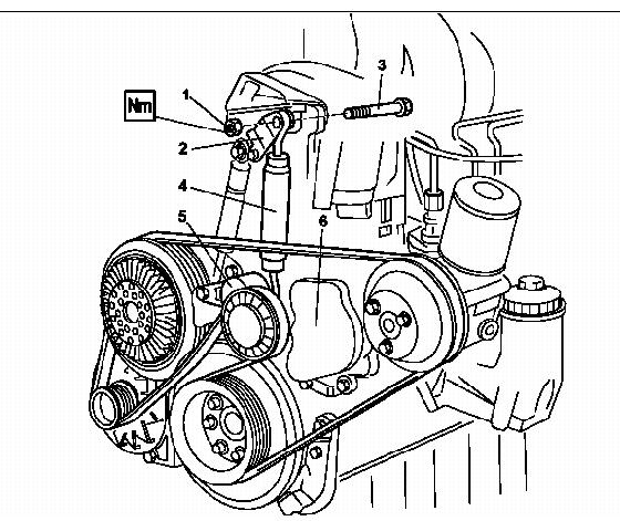 mercedes sprinter 310d fan belt diagram