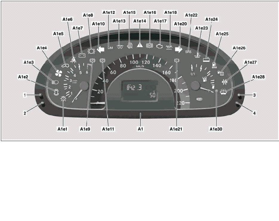 Mercedes vito 109 cdi warning lights for Mercedes benz brake wear warning light