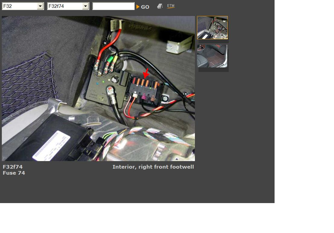 Mercedes benz e air suspension fuse