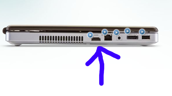 How do you attach an external pc monitor to a toshiba - Hdmi port on toshiba satellite laptop ...