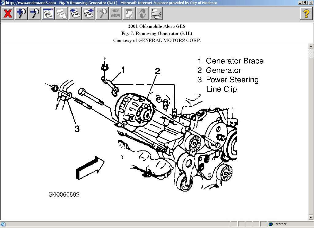 Need A Diagram For The Spark Plugs Wires In A 2001 34 Silhouette