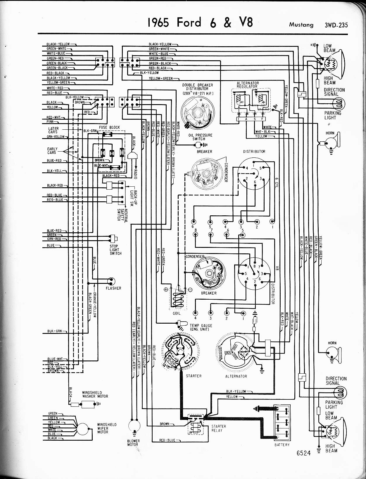 1969 Mustang Wiring Schematic Auto Electrical Diagram Vw I Have A Ford The Instrument Panel Lights Up