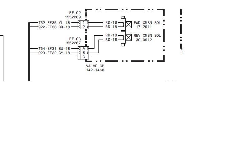 cat 420d 2005  bln01725  will not go in reverse  replaced